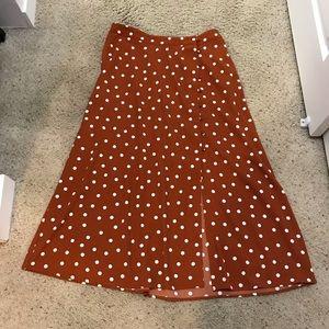 Target Polka Dot Maxi Skirt